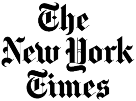 The new york times logo vert