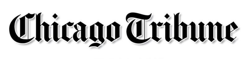 Chicago tribune logo black