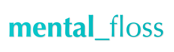 Mental floss logo in optima font