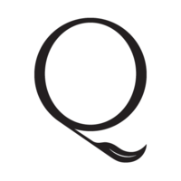 Quill logo square white