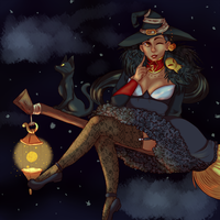 Cute witchy small